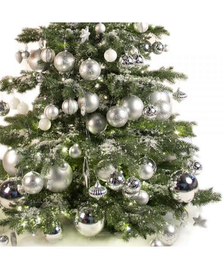 Luxury Tree Bright and Silver 120cm-924
