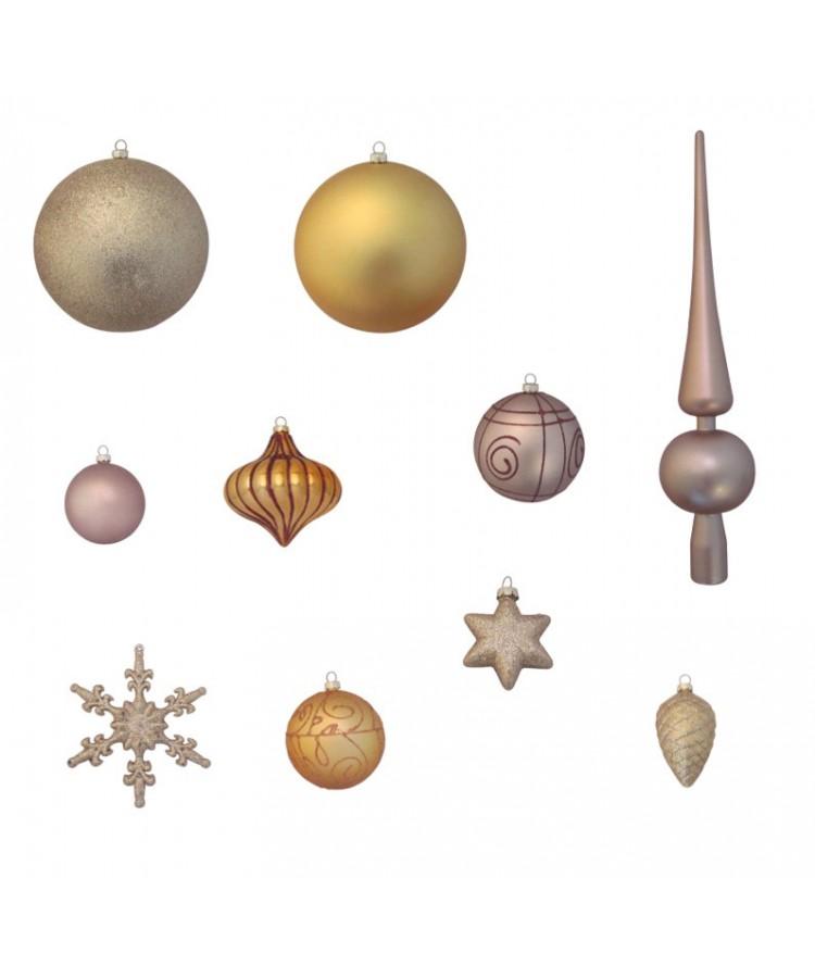 Luxury-Tree-Gold-150cm-Ornaments