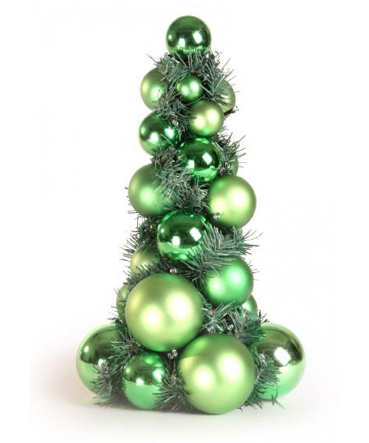 Bauble Tree Refreshing green 40cm-1065