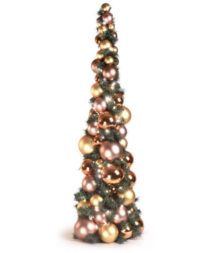 Bauble Tree Golden Mocca 120cm-0