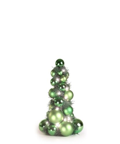 Bauble Tree Refreshing green 40cm-0