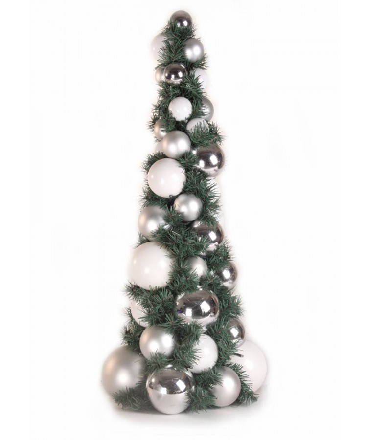bauble-tree-silver-80cm