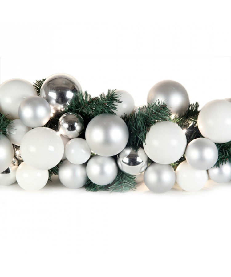 Luxury Garland Bright and Silver 150cm-1110